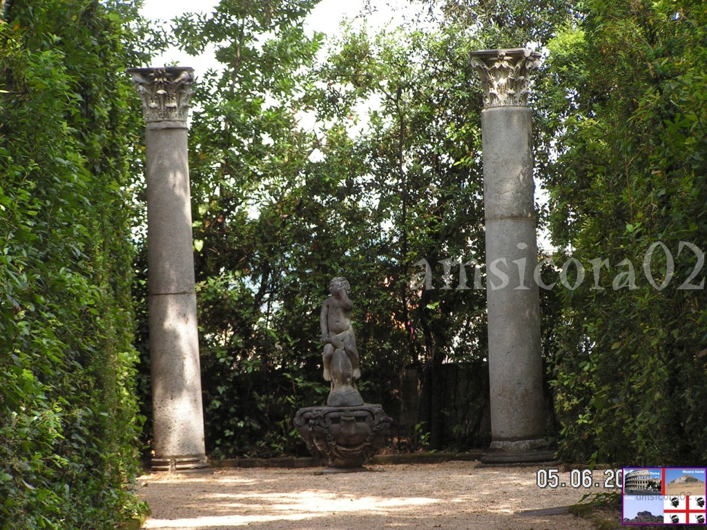 I giardini del quirinale sculture amsicora02 - I giardini del quirinale ...