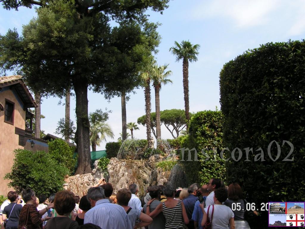 I giardini del quirinale la fontana rocciosa amsicora02 - I giardini del quirinale ...
