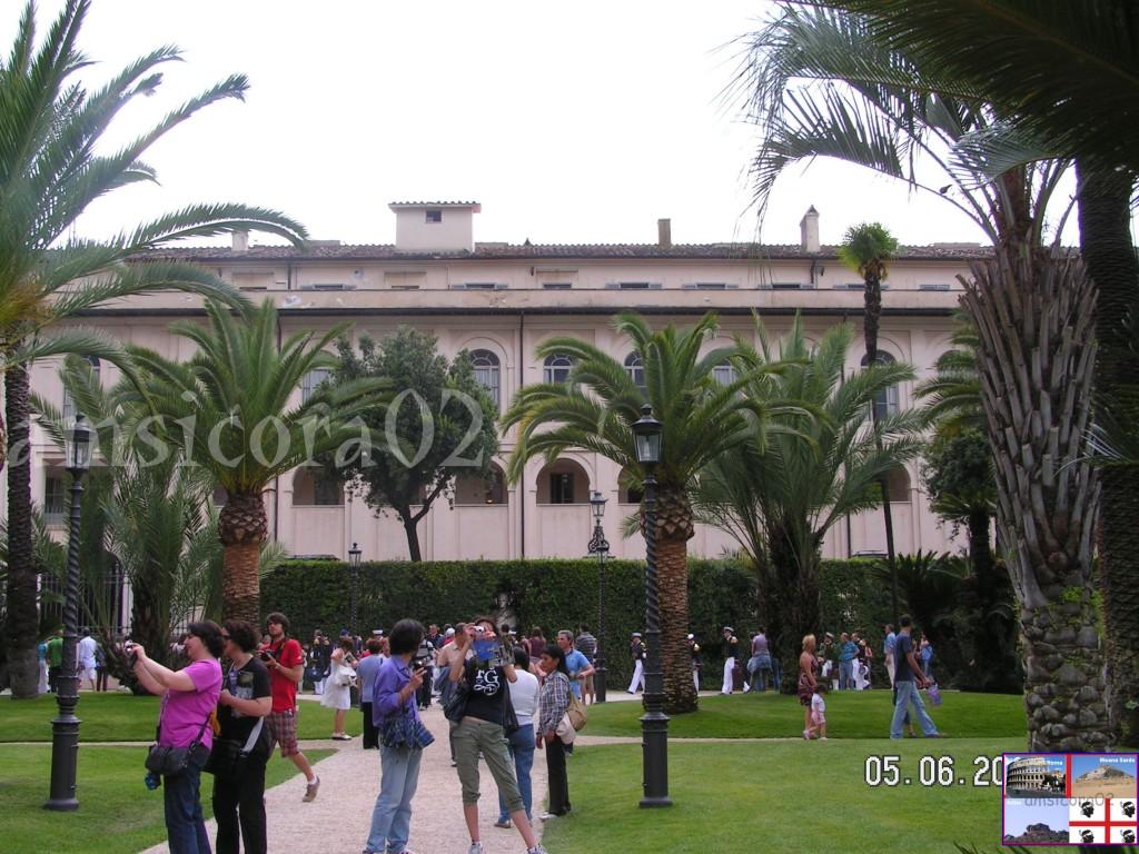 I giardini del quirinale il viale delle palme amsicora02 - I giardini del quirinale ...