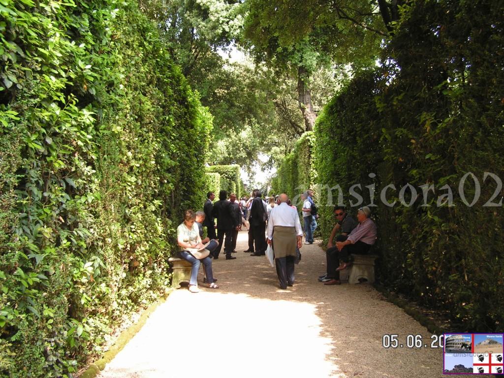 I giardini del quirinale i sentieri amsicora02 - I giardini del quirinale ...